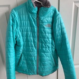North face mossbud insulated girls jacket